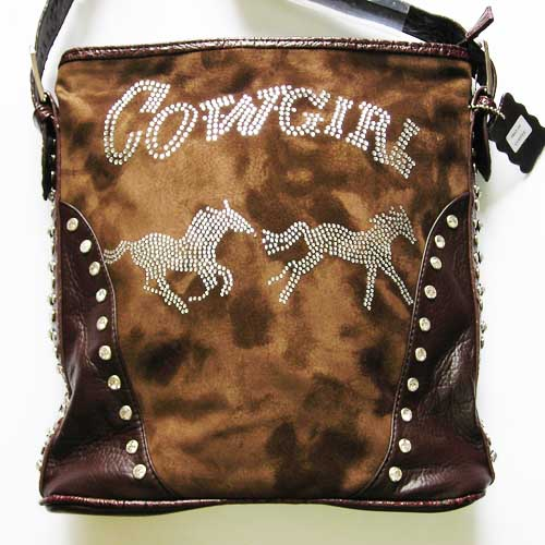 Purse Cowgirl Rhinestone Studded