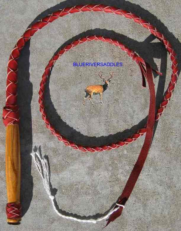 Bullwhip 4 Plait Better (Red)