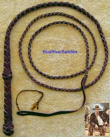 Bullwhip Indiana Jones Braided