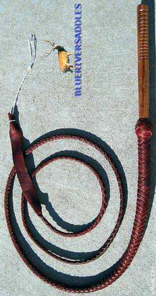 Bullwhip 8 Plait Pro Red Fox